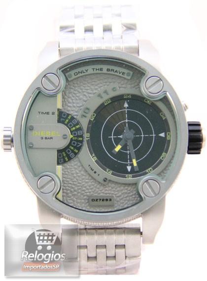 Relógio Réplica Diesel Dz7222 Radar Titanium