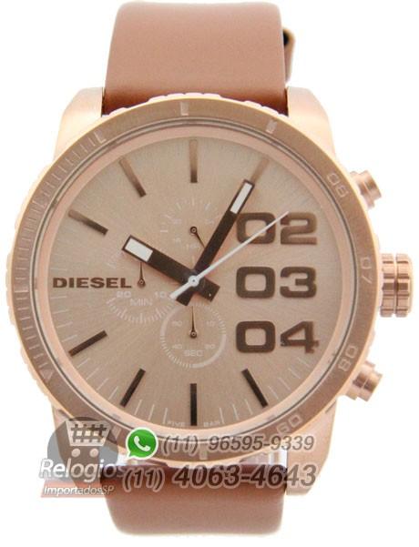 Relógio Réplica Diesel The Only Brave Rosê ( PROMOÇÃO )