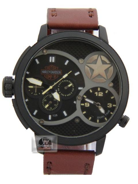Relógio Réplica Harley Davidson Estrela Limited ( 1508 )
