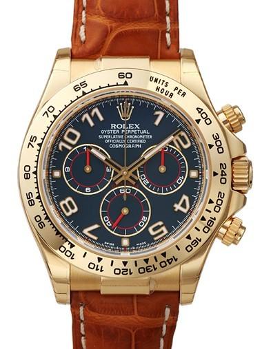 Relógio Réplica Rolex Daytona Gold Blue