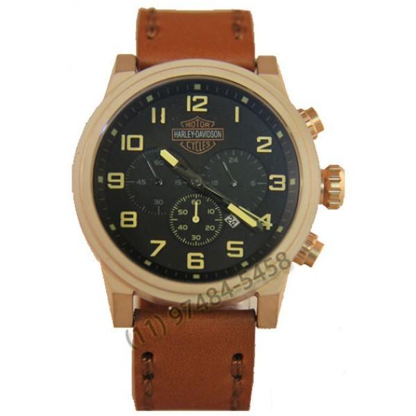Relógio Réplica Harley Davidson