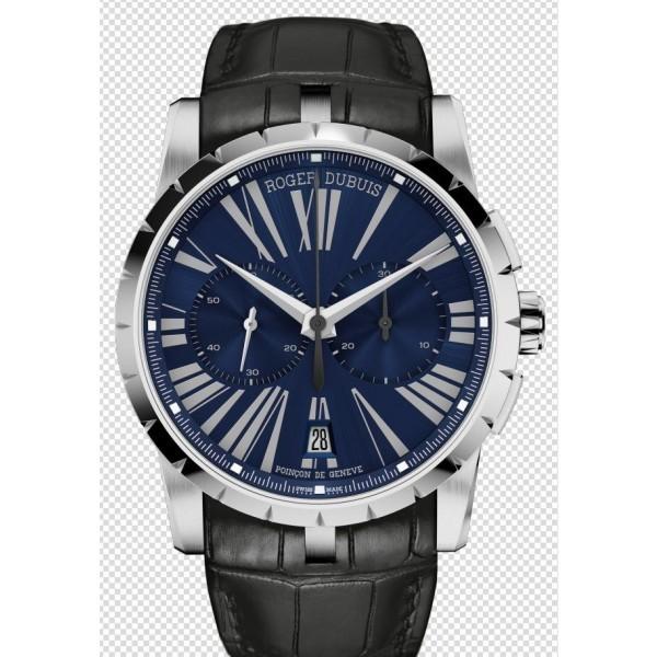 Relógio Réplica Roger Dubuis Excalibur Chronograph Blue