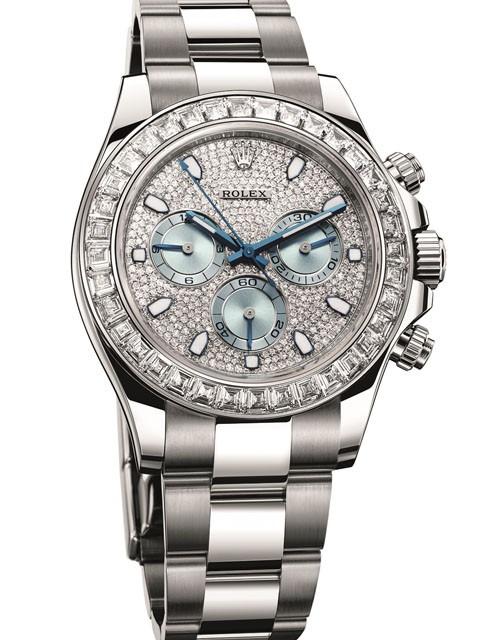 Rolex Cosmograph Daytona Platinum Diamante Lançamento 2015