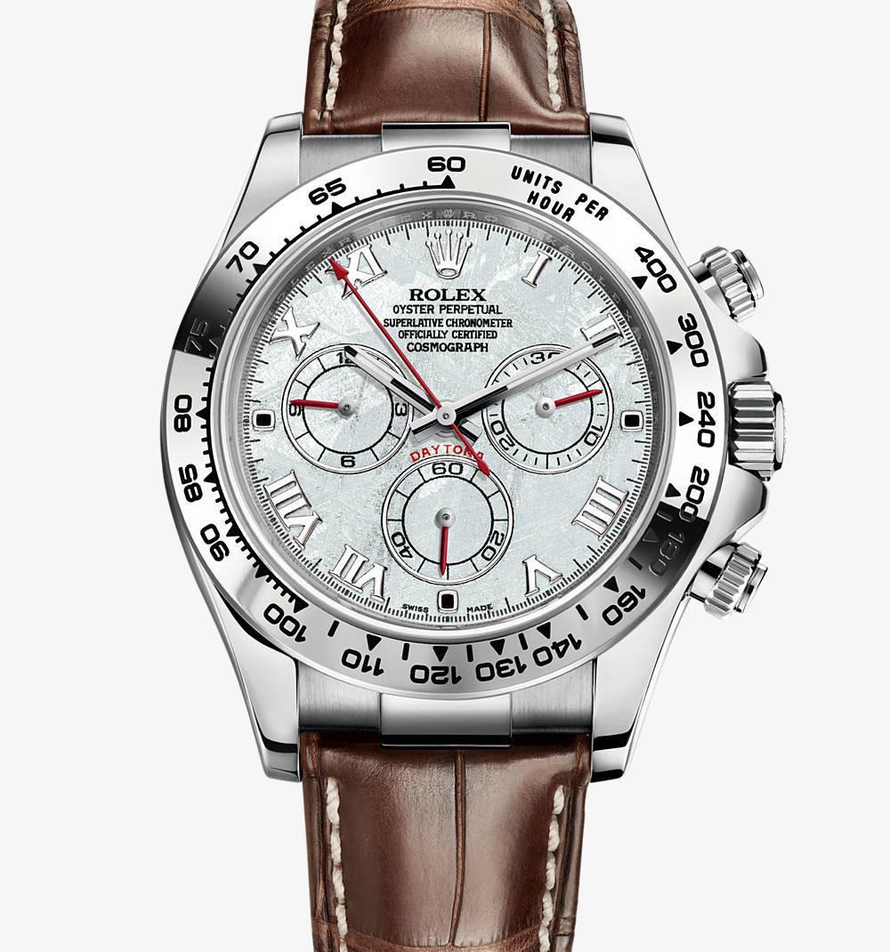 Relógio Réplica Rolex Cosmograph Daytona Silver