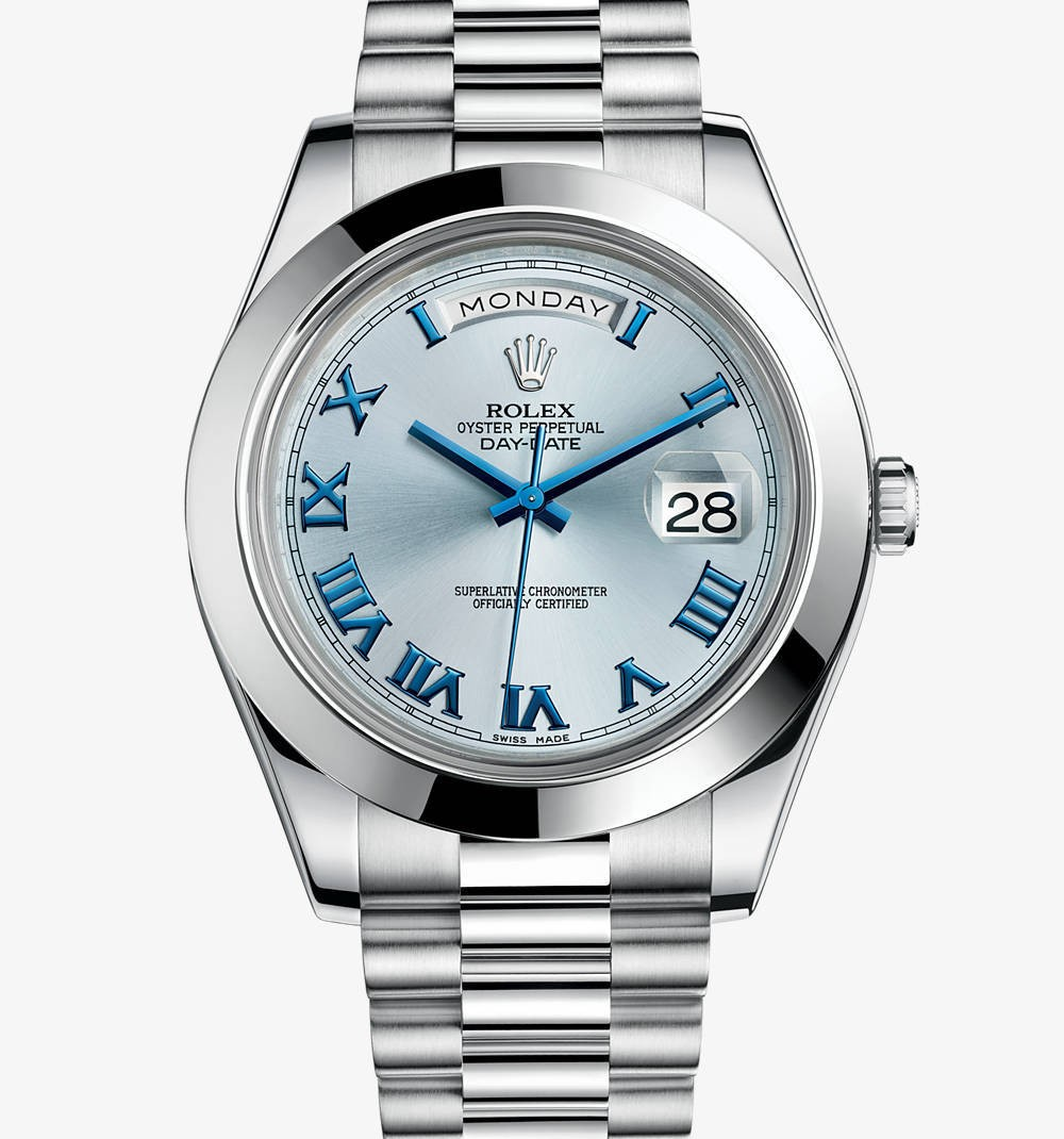 Relógio Réplica Rolex Day Date 2 Blue