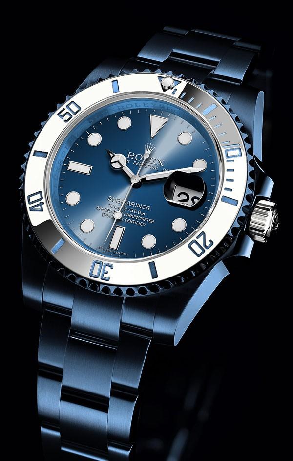 Relógio Réplica Rolex Submariner Blue