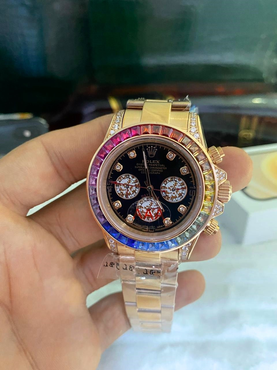 Relógio Réplica Rolex Daytona Diamonds