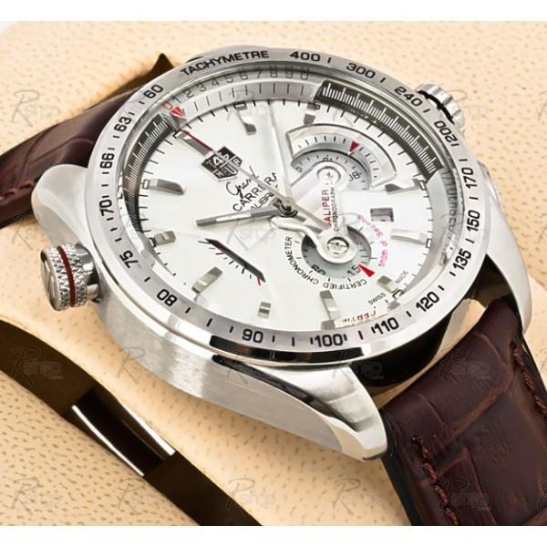 Relógios Réplica Tag Heuer Carrera Calibre 36Rs Marron