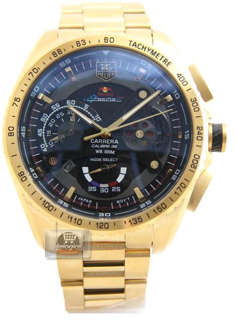 Relógio Réplica Tag Heuer Carrera 36 Red Bull racing