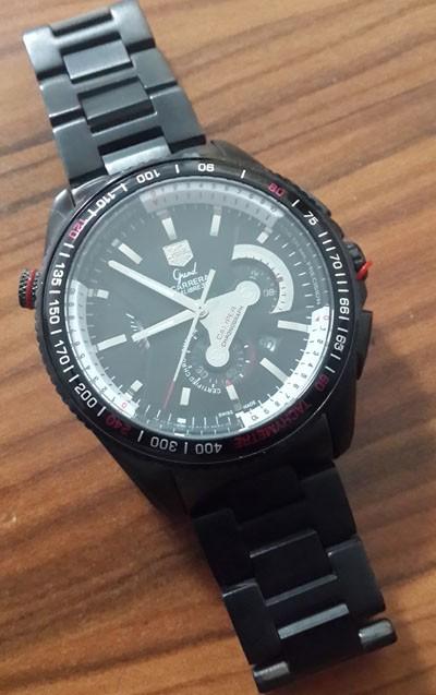 Relógio Réplica Tag Heuer Carrera 36Rs Black All
