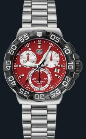 Relógio Réplica Tag Heuer Formula 1 Red