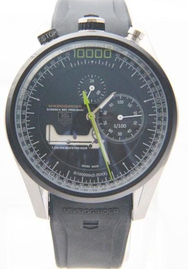 Relógio Réplica Tag Heuer Mikrogirder 10000 Verde ( Promoção )