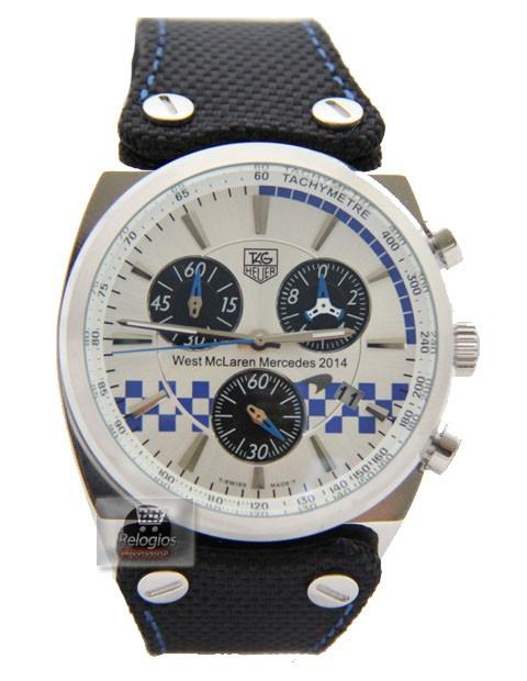Relógio Réplica Tag Heuer West Mclaren Mercedes 2014 New