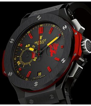 cb779e3c203 Espiar · Relógio Réplica Hublot Red Devil