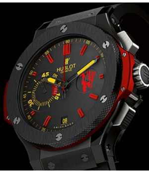 Relógio Réplica Hublot Red Devil