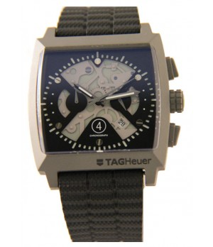 Relógio Réplica Tag Heuer Monaco Titanium Cinza