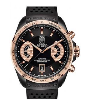 b539a496015 Espiar · Relógio Réplica Tag Heuer Grand Carrera Calibre 17