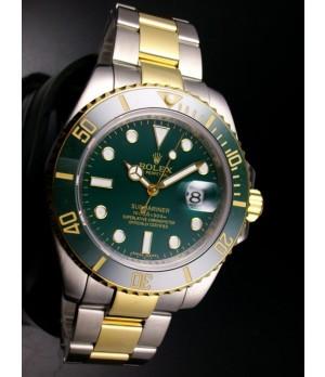 74b38174094 Espiar · Relógio Réplica Rolex Submariner Dark Green Misto