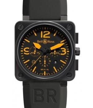 Relógio Bell & Ross BR 01-94 Orange