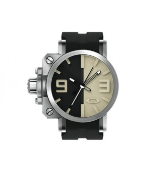 Relógio Réplica Oakley Gearbox Silver Black