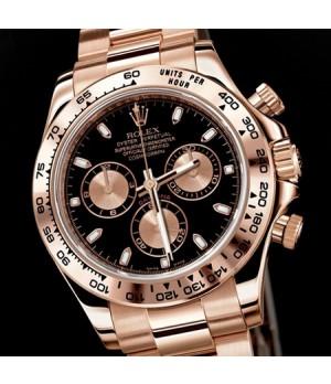 Relógio Réplica Rolex Oyster Perpetual Black Gold