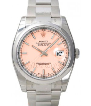 Relógio Réplica Rolex DateJust Salmão