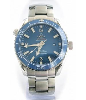 Relógio Réplica Omega Planet Ocean Ceramic Blue