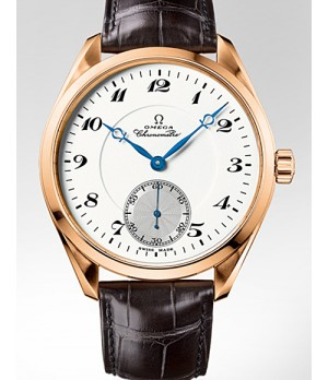 Relógio Réplica Omega Seamaster Aqua Terra Gold White