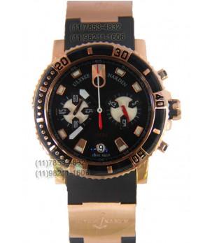 Relógio Réplica Ulysses Nardin Marine Black