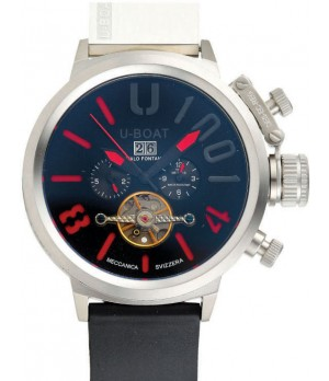Relógio Réplica U-Boat U-1001 vermelho