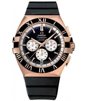 Relógio Réplica Omega Costelation Rosê