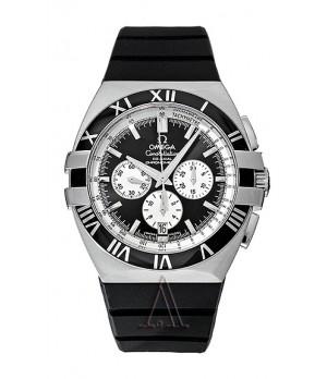 Relógio Réplica Omega Costelation Black
