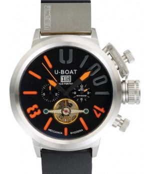 Relógio Réplica U-Boat U-1001 Laranja