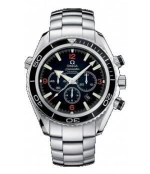 Relógio Réplica Omega Planet Ocean Chrono 02