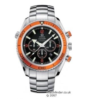 Relógio Réplica Omega Planet Ocean Chrono 01