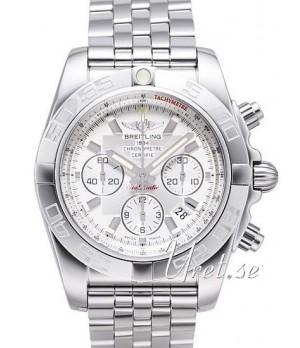 Relógio Breitling Chronomath B01 Branco
