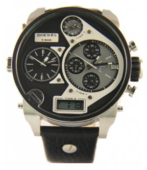 Relógio Diesel DZ Preto e Prata