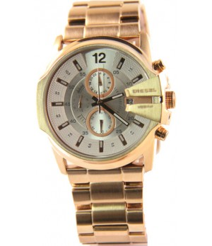 Relógio Réplica Diesel Premium Rosê