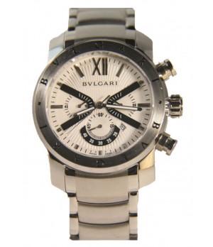 4e22226c603 Espiar · Relógio Réplica Bulgari Homem de Ferro White Stell