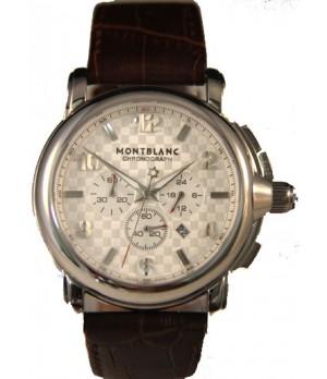Relógio Réplica Montblanc Chronograph White