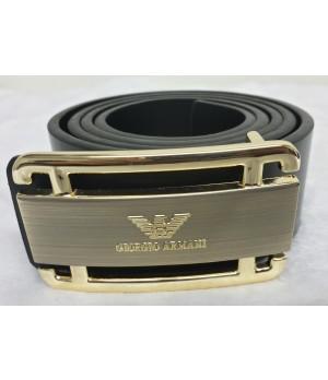 Cinto Giorgio Armani Gold Black