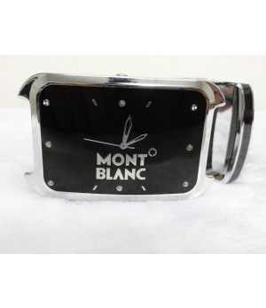 Cinto Mont Blanc Preto