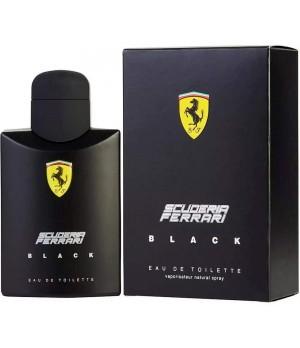 Ferrari Black Eau de Toilette - Perfume Masculino 125ml