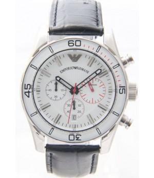 ac79645963e Espiar · Relógio Réplica Armani Branco Couro ( Promoção )