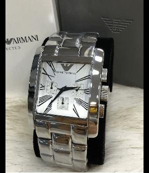Relógio Réplica Emporio Armani AR Quadrado