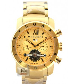 Relógio Réplica Bulgari X Men Gold