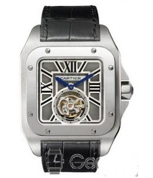 8b5764f8794 Espiar · Relógio Réplica Cartier Santos Turbillon Automatic