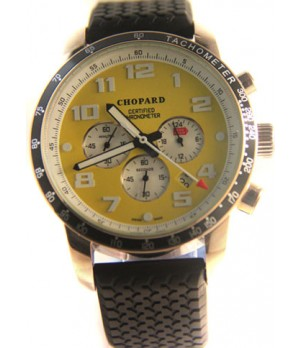 Relógio Réplica Chopard Mille Miglia Silver Yellow