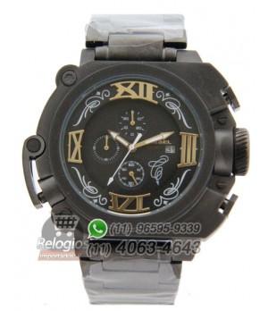 76206ae525f Espiar · Relógio Réplica Diesel Batman All Black Aço ( PROMOÇÃO )