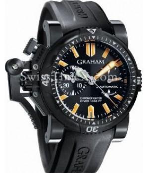 Relogio Réplica Graham Oversize Diver Chronofighter